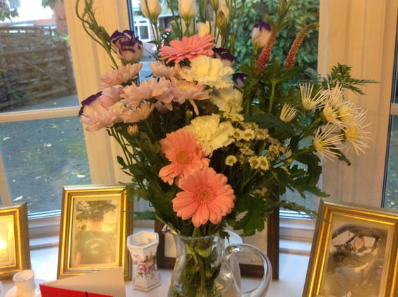 Flowers from old friend Ann and family |Pinned from PinTo for iPad|