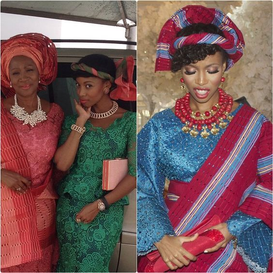 The only way to wear Gele, in my reckoning. Your ears don't become kilinshi