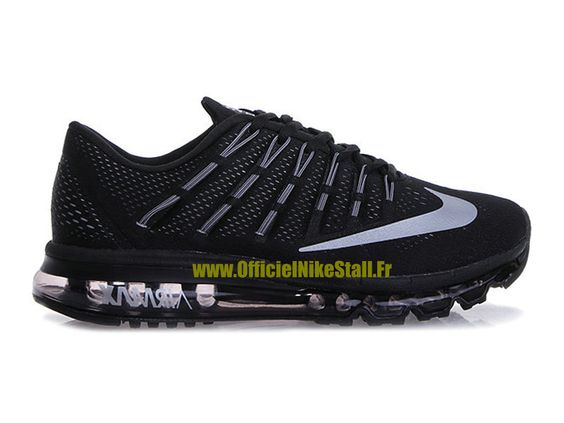 vestes Nike Vintage - Nike Air Max 2016 Chaussures Nike Running Pas Cher Pour Homme Noir ...