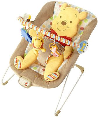 "Disney Winnie the Pooh Bouncer - Kids II - Babies ""R"" Us Oh my gosh! So cute, definitely going on my registry because we love Winnie The Pooh :)"