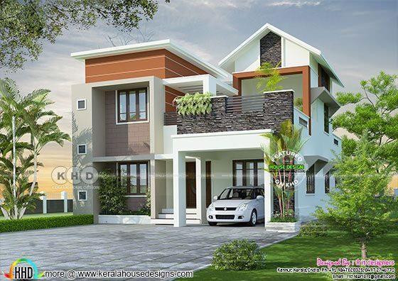 Beautiful Kerala Home Design In 4k Resolution Kerala Home Design