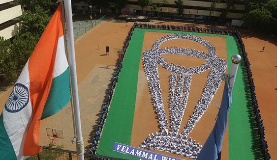 Velammal Wishes Team India Yoga Day 2019