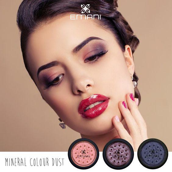 100% zuivere minerale pigmenten volledig vrij van talk voor de ogen, lippen of gezicht. Emani Mineral Color Dust staat voor een pure en hemelse finishing touch. Met een vochtige penseel aanbrengen. Gebruik een willekeurige kleur om te highlighten.