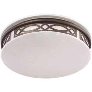 Osram Sylvania 3-Light Flush Mount Ceiling Bronze LED Indoor Light Fixture-75256.0 at The Home Depot