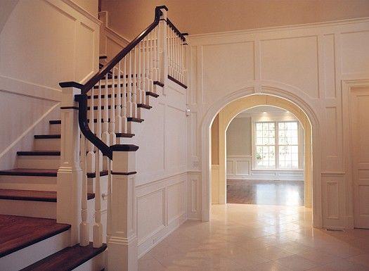 صور درابزين درج للفلل والدوبليكس بأحدث الاشكال ميكساتك Fine Home Building Foyer Design Home Builders