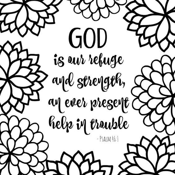 Bible Verse Coloring Pages Free Printable
