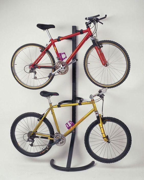 Racor Pro PLB-2R Two-Bike Gravity Freestanding Bike Stand - Bike Rack @ Amazon.com –$50