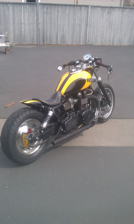 Triumph Speedmaster Bobber - this would be my version of bumblebee.