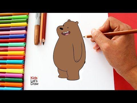 Como Dibujar Y Colorear A Pardo De Osos Escandalosos How To Draw