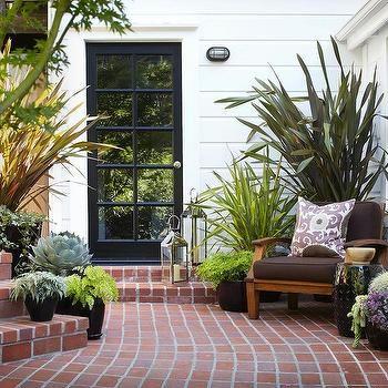 Brick Pavers, Traditional, deck/patio, Urrutia Design