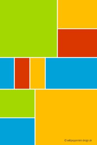 bunt, popart, geometrisch, gelb / © 365tagegelb.wordpress.com