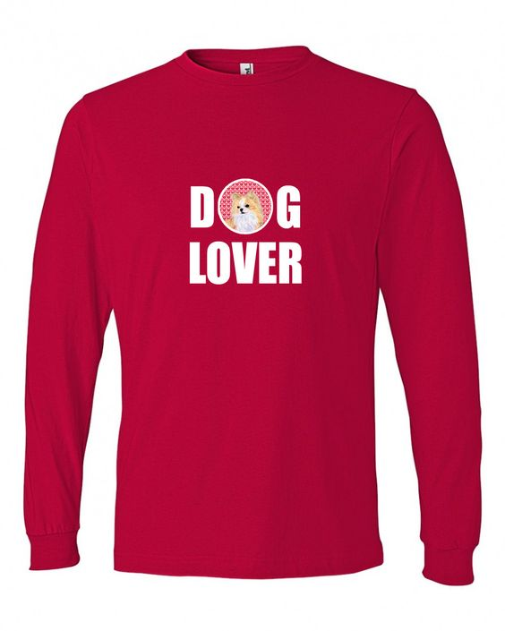 Chihuahua Long Sleeve Red Unisex Adult Large