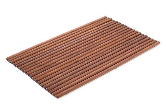 Badvorleger Holz Enjoy   Badvorleger Holz aus Robinienholz. Mit ovalen Stäben für eine angenehme Trittfläche. In zwei Größen erhältlich.