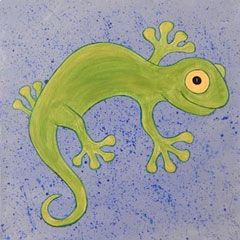 Junior Social Artworking: Leapin' Lizard