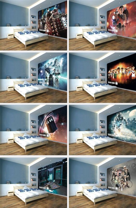Doctor Who Wallpaper Mural New Tardis Interior TARDIS