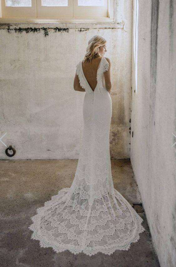 Made With Love Bridal Billie Wedding Dress Wedding Dresses Nz Wedding Dresses Lace Long Beach Wedding Dresses