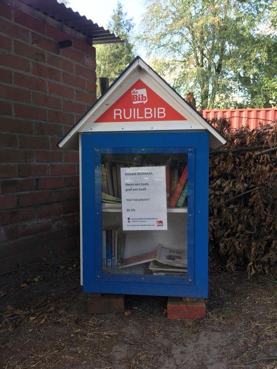 Boekenruilkast Plukhof Beernem