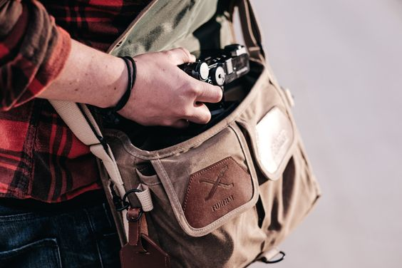 Delve into the goodness of X-Photographer Bryan Minear's X Series Domke bag!