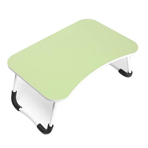 Laptop Table Wooden Office Desk Bed Computer Desk Folding Small