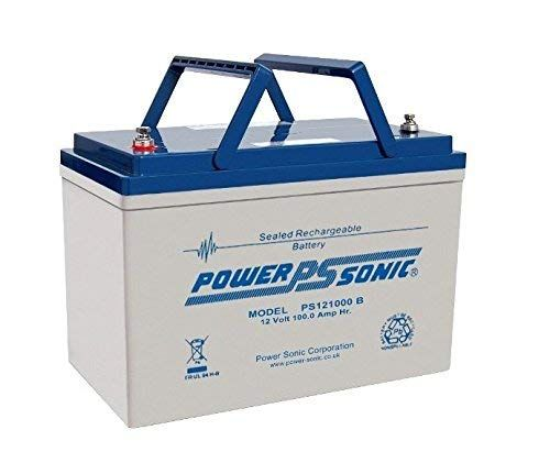 Get Powersonic 12v 100ah Deep Cycle Agm Gel Battery Solar Power Wind Turbine Power Sensible