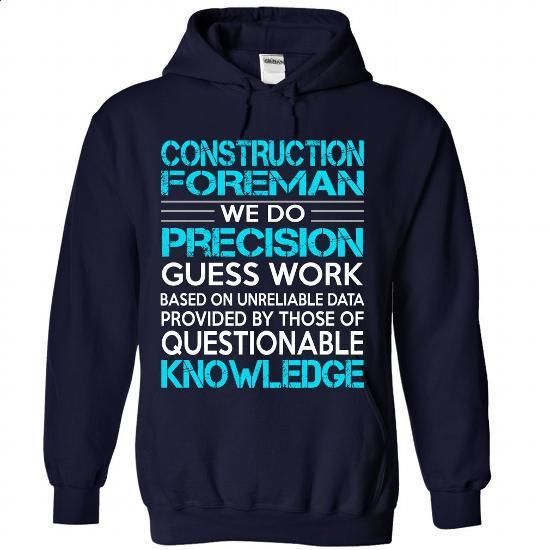 Awesome Shirt For Construction Foreman - #yellow hoodie #free t shirt. GET YOURS => https://www.sunfrog.com/LifeStyle/Awesome-Shirt-For-Construction-Foreman-6910-NavyBlue-Hoodie.html?id=60505