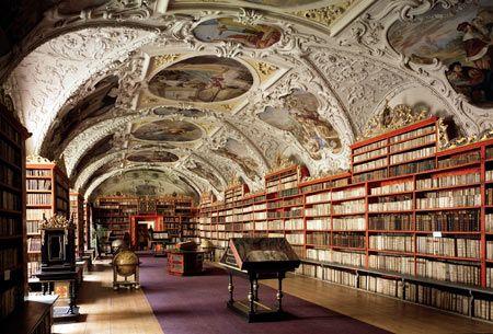 Kloster Bibliothek