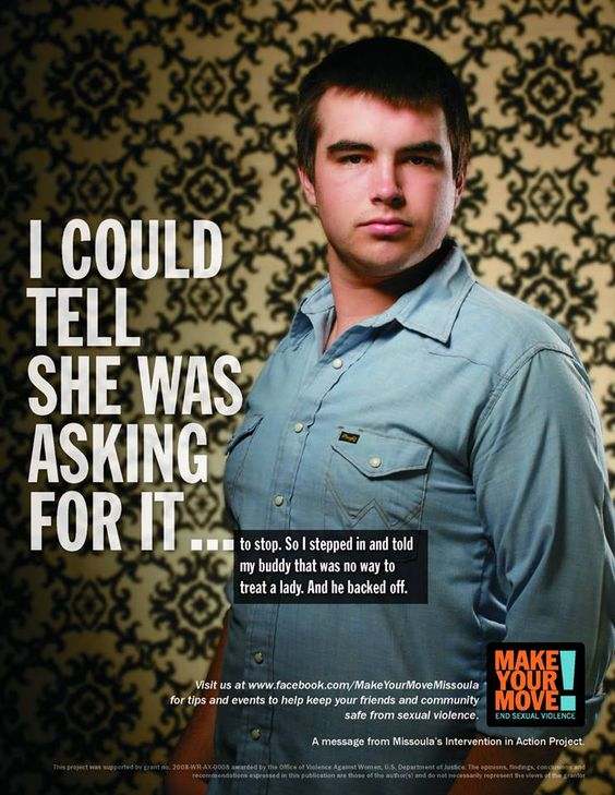 An Anti-Rape Campaign That Shames the Perpetrator, Not the Victim: