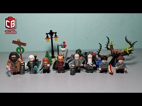 Lego Harry Potter Minifigs Unofficial Lego Youtube Lego Harry Potter Minifig Lego