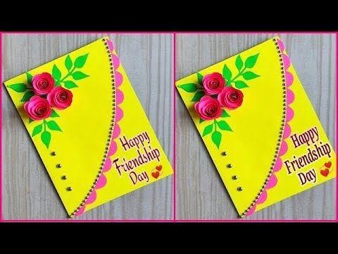 Beautiful Handmade Friendship Day Card How To Make Friendship