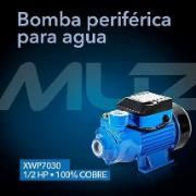 Bomba Periférica para Agua 1/2 HP Muzin XWP7030 Bs 38133.76