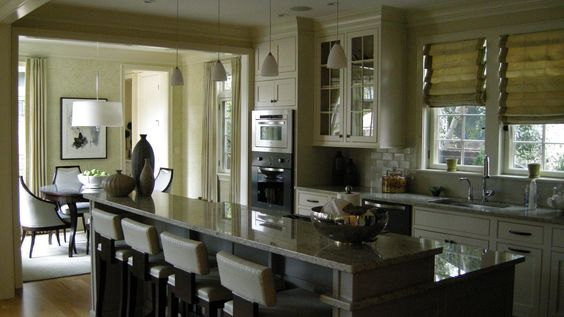 good idea to distinguish between kitchen and dining room