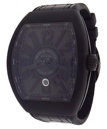 Franck Muller Vanguard V45 SC DT Titanium Watch