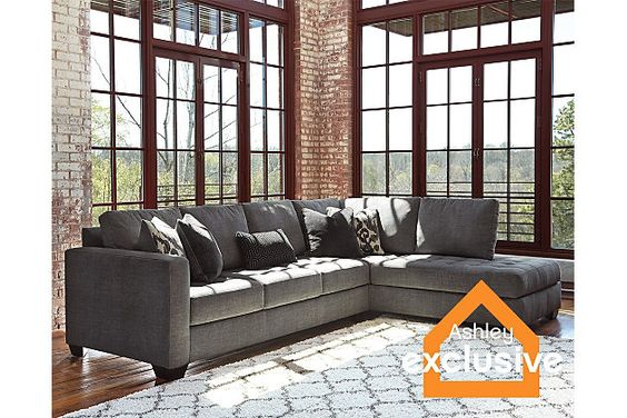 Owensbe 2 piece sectional Ashley New house interior