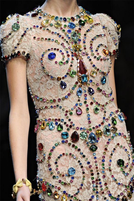 Dolce and Gabbana  Spring 2012  fashion