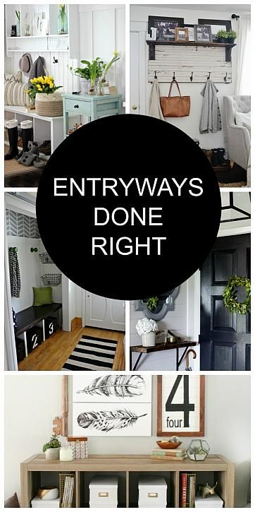 Entryways Done Right | The Casual Craftlete