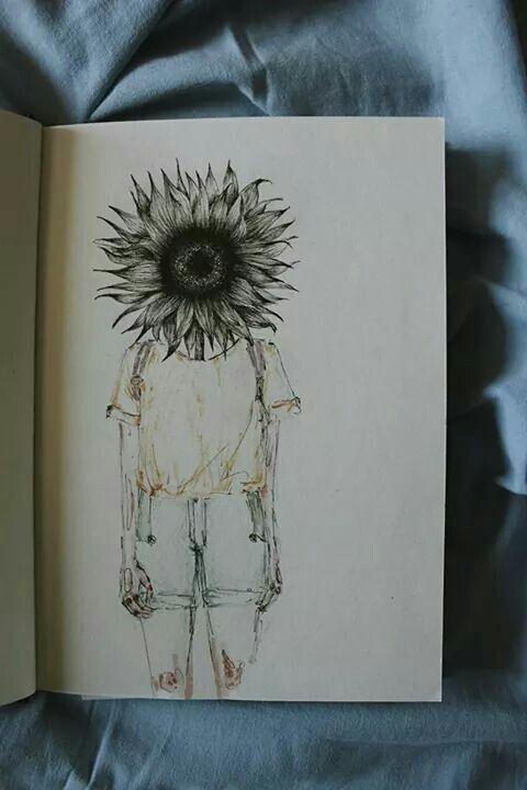 Girasol Girasoles Dibujo Dibujar Arte Dibujos