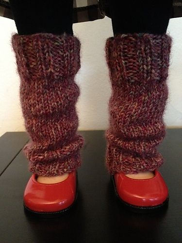 """Ravelry: Legwarmers for American Girl or Any 18"""" Doll pattern by Diane M Howard   Free Pattern"""