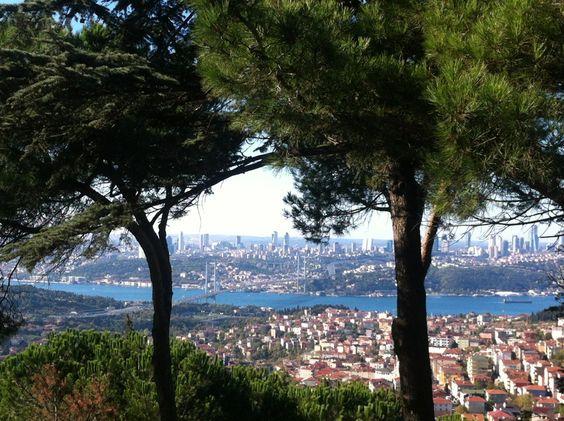 La colina de Çamlıca, Estambul, Turquía