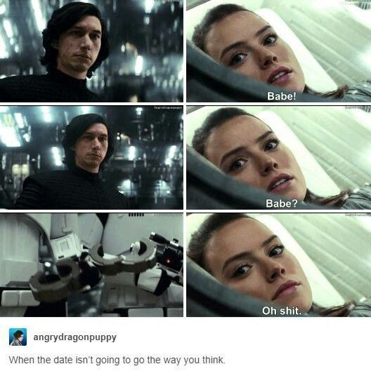 Out Of Context Reylo Nocontextreylo Twitter Star Wars Ships Star Wars Memes Star Wars Humor