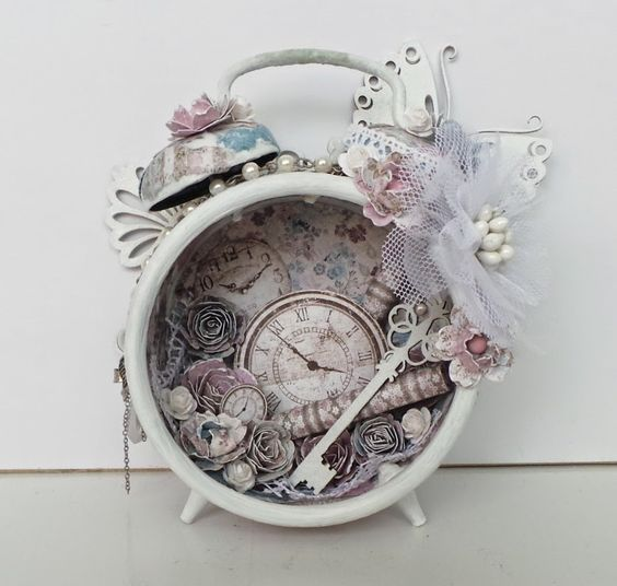 altered alarm clock -with tutorial- | Official blog of MajaDesign Ingrid Gooyer: