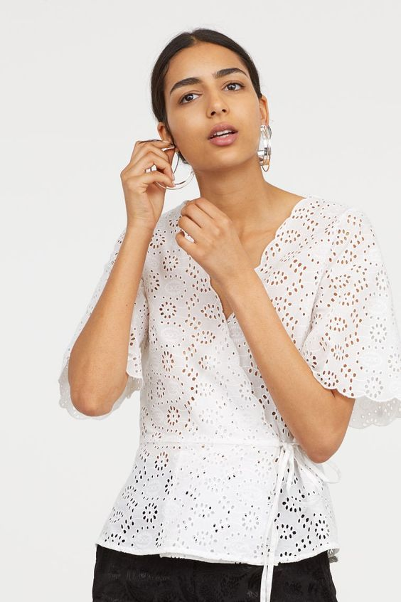 29 Lace Blouses To Rock This Season outfit fashion casualoutfit fashiontrends