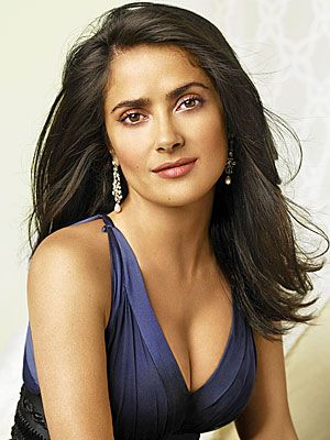 Salma Hayek. Mother, Actress and Producer. Producer of Frida, Ugly Betty has created films that has opened the doors for Latino, showing them in positive lighting and opening diverse roles.  Positive business role model for Latinas