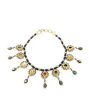 Maharaja 'Jahanara' 22K 9.50 ct. tw. Gemstone Necklace
