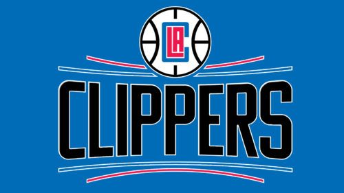The Visual Center Is The Word Logos Los Angeles Clippers One Logo