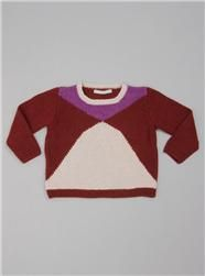 Couverture and The Garbstore - Childrens - English Weather - Hand knitted cashmere girl's jumper