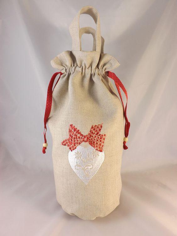"""Sac à sacs ou distributeur de sacs en plastique """" coeur"""" : Etuis, mini sacs par les-p-tites-zettouilles"""