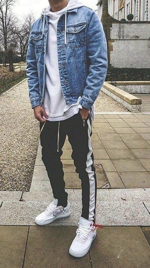 más barato gran venta comprar en linea 19 Savvy Hoodie Outfits for MEN : Honcho Lifestyle | Ropa urbana ...