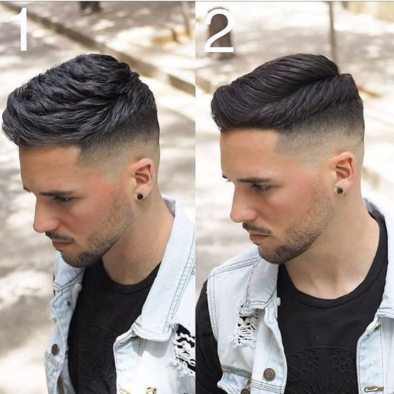 Different Men Fades Types Haircut For Men Menstellar Mens Haircuts Fade Drop Fade Haircut Fade Haircut