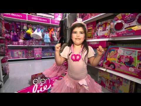 sophia grace and rosie meet nicki minaj shopping spree