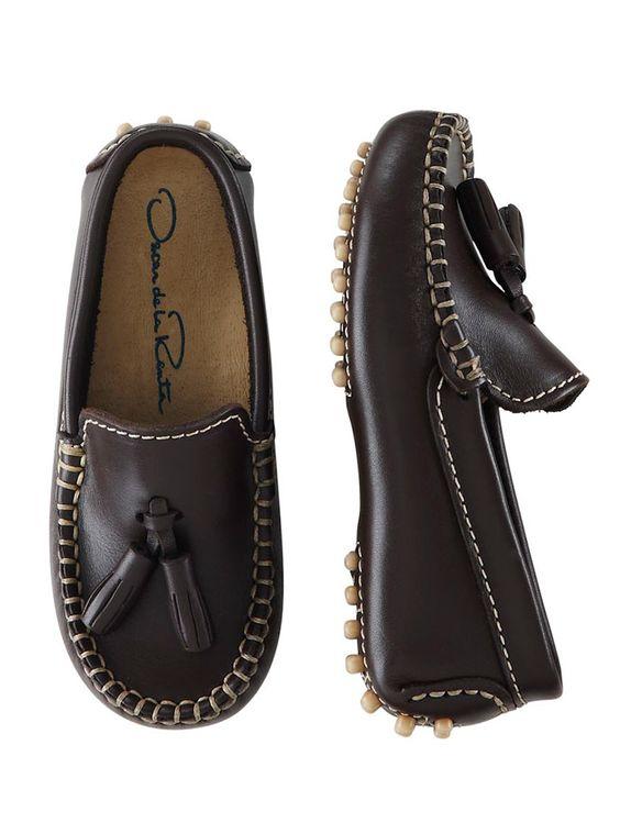 Oscar de la Renta - Leather Moccasins